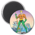 Aquaman Stands With Spear Fridge Magnet
