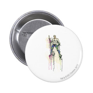 Aquaman - Twisted Innocence Poster 2 Inch Round Button