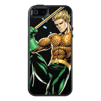Aquaman with Spear OtterBox iPhone 5/5s/SE Case