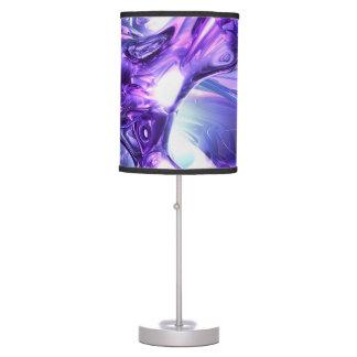 Aquamarine Abstract Table Lamp
