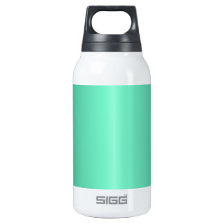 Aquamarine and Castleton Green Gradient Insulated Water Bottle