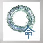 Aquamarine Destiny, Enso Poster