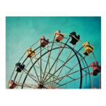 Aquamarine Dream - Carnival Photograph Postcard