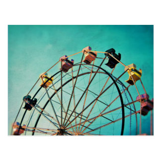Aquamarine Dream - Carnival Photograph Postcard