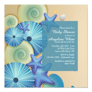 Aquamarine Life Invitation