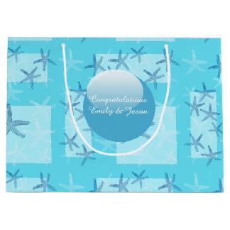 Aquamarine Starfish Gift Bag