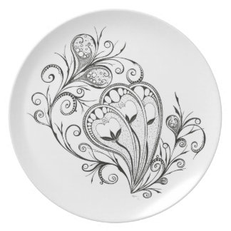"""Aquaphyte"" Plate"