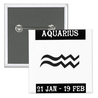 Aquarium 2 Inch Square Button