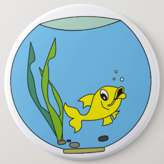 aquarium 6 inch round button