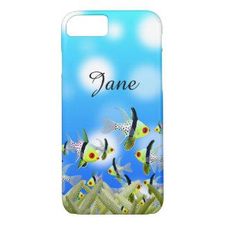 AQUARIUM Cell Phone Cover, Fishes & Sea iPhone 7 Case