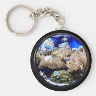 Aquarium keychain. keychain