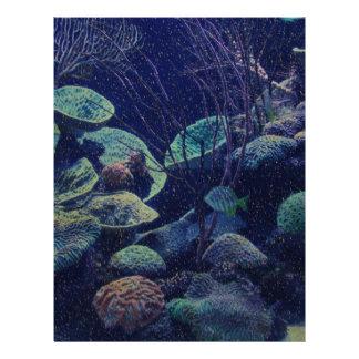 Aquarium Letterhead