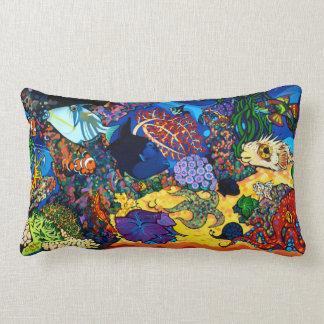 Aquarium Lumbar Pillow