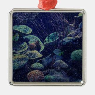 Aquarium Metal Ornament