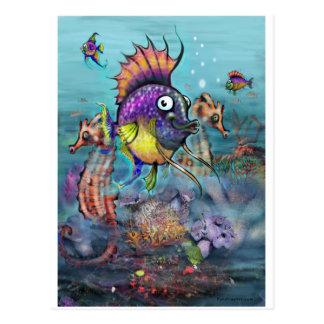 Aquarium Postcard