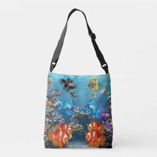 Aquarium Sealife Crossbody Bag
