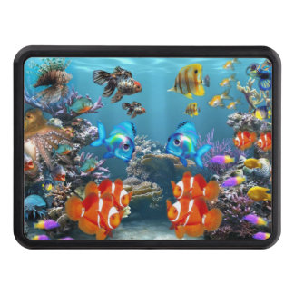 Aquarium Sealife Trailer Hitch Cover