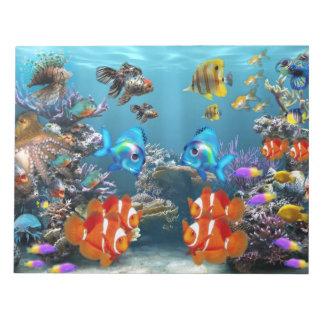 Aquarium Style Notepads