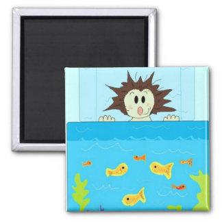 Aquarium View Magnet