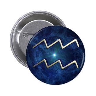 Aquarius 2 Inch Round Button