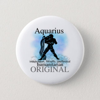 Aquarius About You 2 Inch Round Button