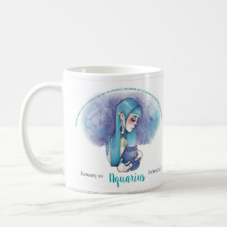 Aquarius Astrological Zodiac Mug