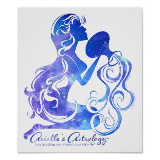 Aquarius Astrology Poster