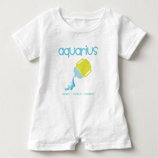 Aquarius Baby Romper
