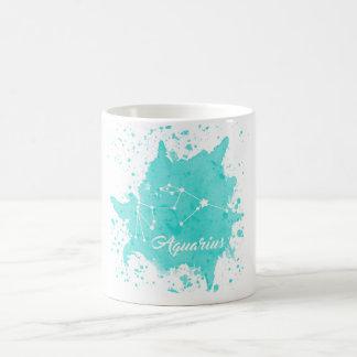 Aquarius Blue Mug