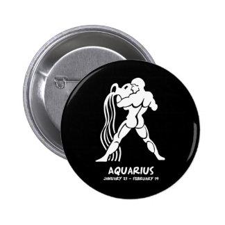 Aquarius Pinback Buttons