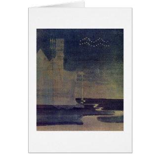 Aquarius by M.K. Ciurlionis, 1907 Card