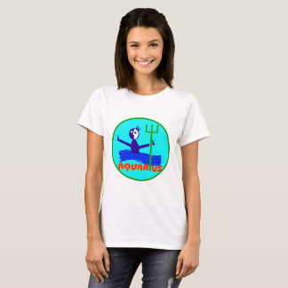 Aquarius cartoon the water bearer T-Shirt