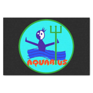 Aquarius cartoon the water bearer tissue paper
