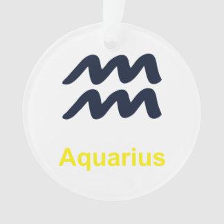 Aquarius Christmas Ornament