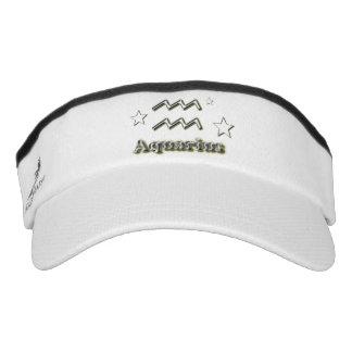 Aquarius chrome symbol visor