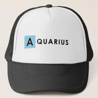 AQUARIUS COLOR TRUCKER HAT