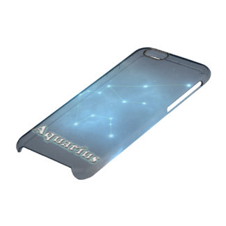 Aquarius constellation clear iPhone 6/6S case