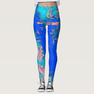 Aquarius Girl Love Leggings