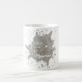 Aquarius Gray Mug