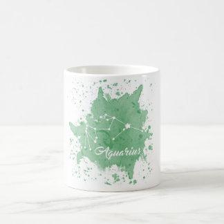 Aquarius Green Mug