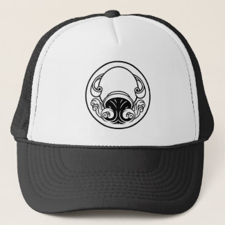 Aquarius Horoscope Birth Sign Trucker Hat