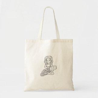 Aquarius Illustration Bag