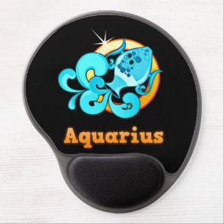 Aquarius illustration gel mouse pad