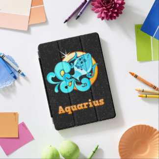 Aquarius illustration iPad air cover