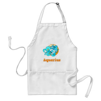 Aquarius illustration standard apron