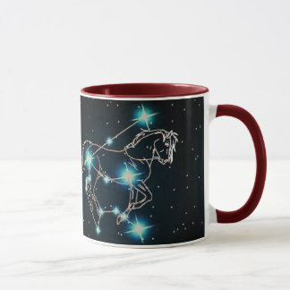 Aquarius in the year of the Horse Mug