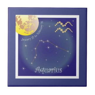 Aquarius January 21 tons of February 18 photo tile