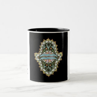 Aquarius Khamsa Mug