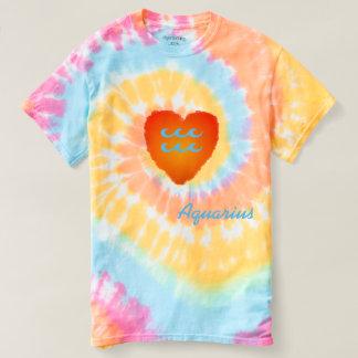 Aquarius Pastel Swirl Tie Dye Shirt