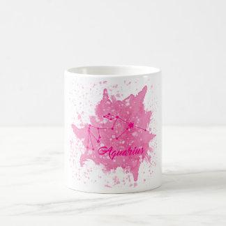 Aquarius Pink Mug